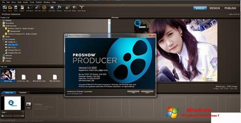 Posnetek zaslona ProShow Producer Windows 7